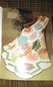 grandmothers garden first quilt